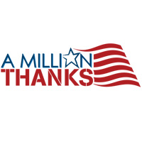 A Million Thanks Logo