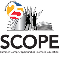 Summer Camp Opportunities Promote Education Logo